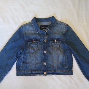 New Maurices Cropped Denim Jacket